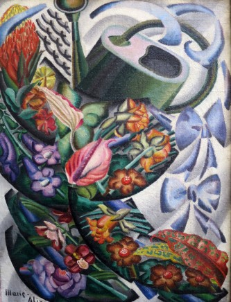 Alice Marie-Alix, Still Life With Watering Can, 1933