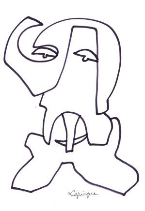 Charles Lapicque, L'Homme Éléphant