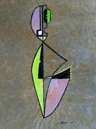 James Pichette, Composition in Purple and Green