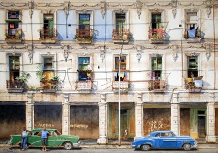 Jonathan Pike, No Parqueo, Havana, 2020