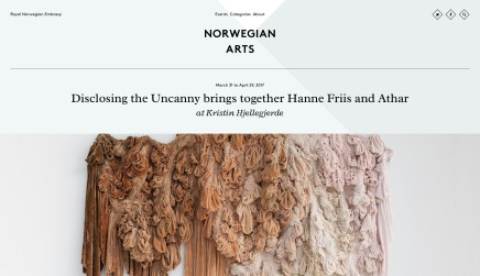 Disclosing the Uncanny brings together Hanne Friis and Athar