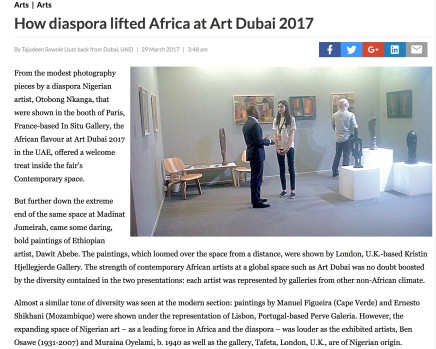 How diaspora lifted Africa at Art Dubai 2017