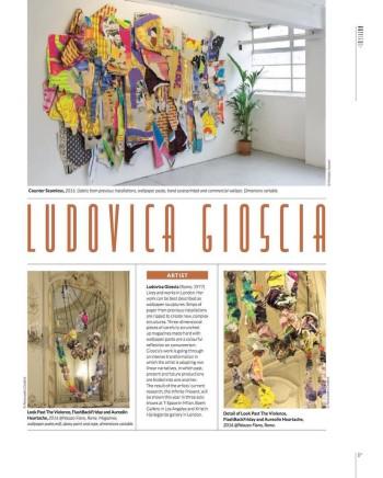 Artviews: Ludovica Gioscia