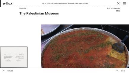 The Palestinian Museum - Jerusalem Lives (Tahya Al Quds)
