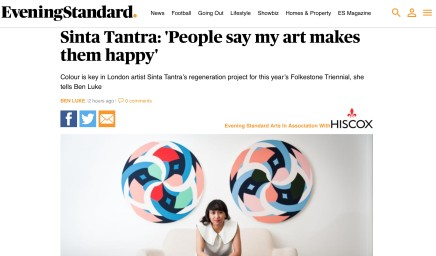 Sinta Tantra: 'People say my art makes them happy'