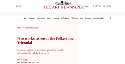 Five works to see at the Folkestone Triennial
