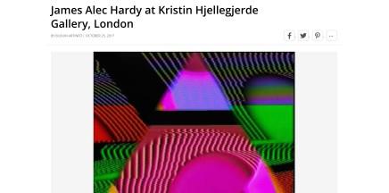 James Alec Hardy at Kristin Hjellegjerde Gallery, London