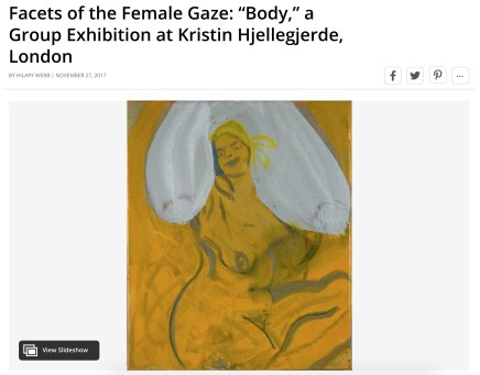 "Facets of the Female Gaze: ""Body,"" a Group Exhibition at Kristin Hjellegjerde, London"