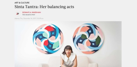 Sinta Tantra: Her balancing acts