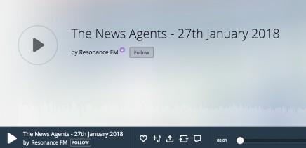 Kristin Hjellegjerde's interview on Resonance Radio