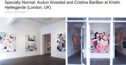 Specially Normal: Audun Alvestad and Cristina BanBan at Kristin Hjellegjerde (London, UK)