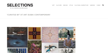 'CURATED BY' AT ART DUBAI CONTEMPORARY