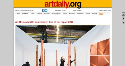 Art Brussels 50th anniversary: End of fair report 2018