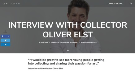 Interview with collector Oliver Elst