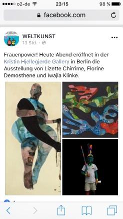 Frauenpower! Lizette Chirrime, Florine Demosthene und Iwalja Klinke