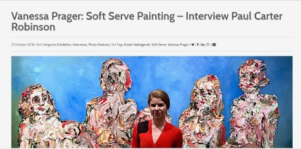 Vanessa Prager: Soft Serve Painting – Interview Paul Carter Robinson