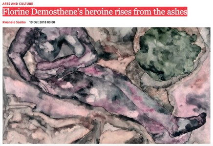 Florine Demosthene's heroine rises from the ashes