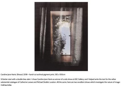 London Gallery Exhibitions July 2018 Chosen By Paul Carey-Kent