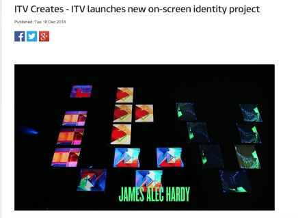 ITV Creates - ITV launches new on-screen identity project