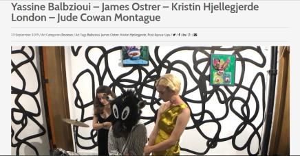 Yassine Balbzioui – James Ostrer – Kristin Hjellegjerde London – Jude Cowan Montague