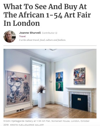 What To See And Buy At The African 1-54 Art Fair In London