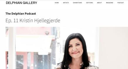 The Delphian Podcast Ep. 11 Kristin Hjellegjerde
