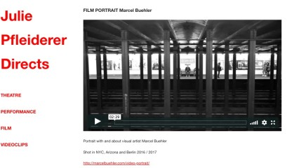 FILM PORTRAIT Marcel Buehler