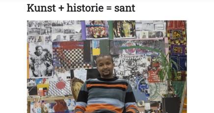 Kunst + historie = sant