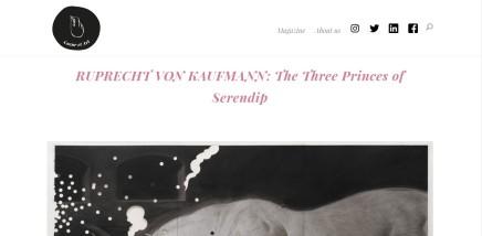 RUPRECHT VON KAUFMANN: The Three Princes of Serendip