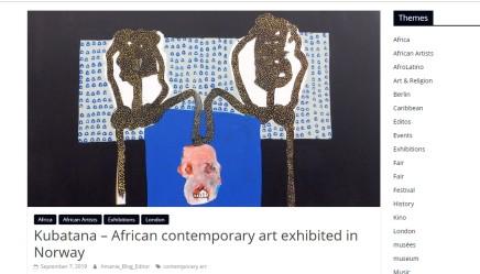 Kubatana – African contemporary art exhibited in Norway