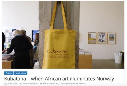 Kubatana – when African art illuminates Norway