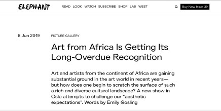 Art from Africa Is Getting Its Long-Overdue Recognition