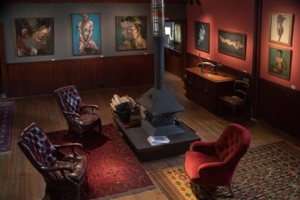 Alan McGowan from above, Kilmorack Gallery