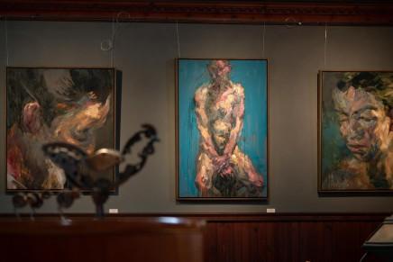 Alan McGowan and Helen Denerley, Kilmorack Gallery July 2019