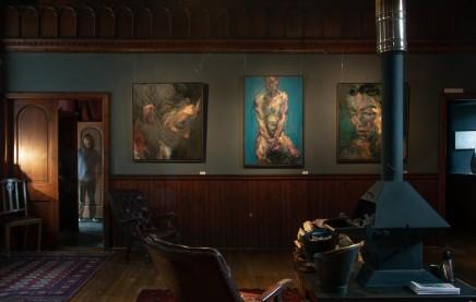 Alan McGowan in Kilmorack Gallery, July2019