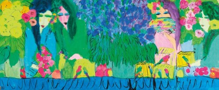丁雄泉, 無題, 1990