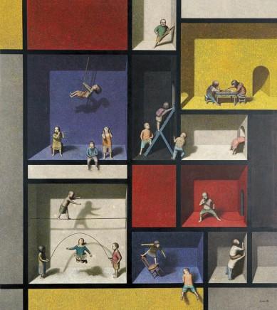 Liu Hong Wei, Mondrian's World, 2012