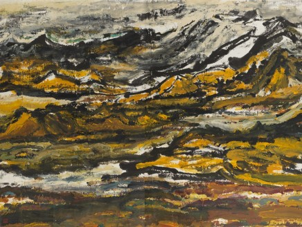 Wu Yi, The Kunlun Mountains in Early Spring, 1990