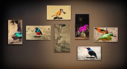 Lee Lee Nam, 二○一二 - 八十七鳥圖, 2012