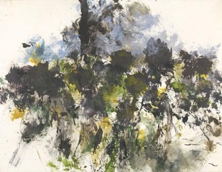 Myonghi, Black Sunflower II, 2011