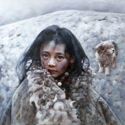 Ai Xuan, The Blizzard Sweeping across the Tundra, 2001