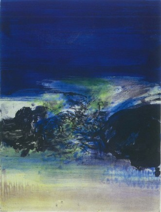 Zao Wou-Ki, Untitled, 1981