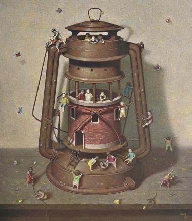 Liu Hong Wei, Memories of the Lamp, 2015