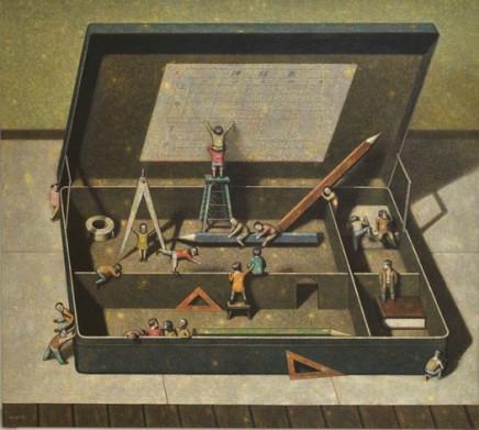 Liu Hong Wei, Big Pencil Box, 2010