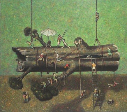 Liu Hong Wei, Rejuvenation of an Old Tree , 2009