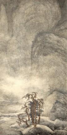 Li Huayi, Snowy Landscape, 2001