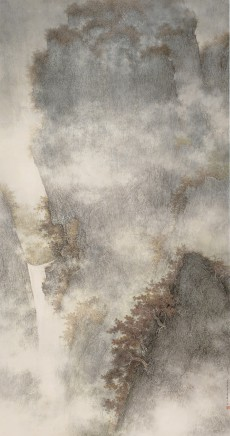 Li Huayi, Waterfall in Ravine, 2009