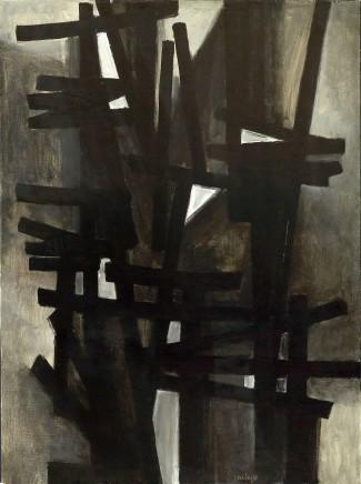 Pierre Soulages, Peinture 130 x 97cm, 1949, 1949