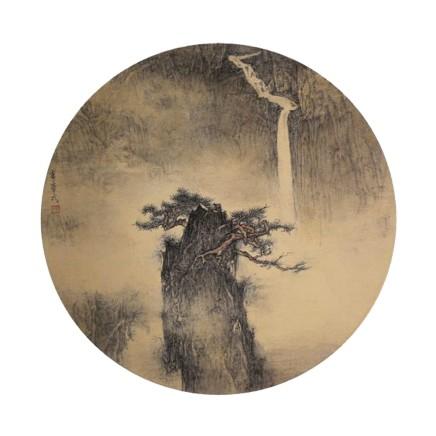 李华弌, 山水 (二), 2018