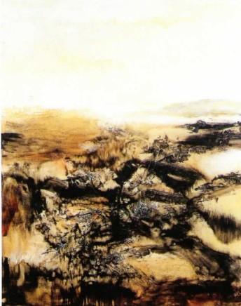 Zao Wou-Ki, 20.08.75, 1975